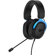 ASUS TUF Gaming H3 Blue - Herní sluchátka