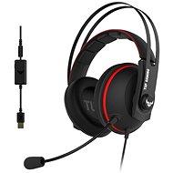 ASUS TUF Gaming H7 Red - Herní sluchátka