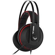 ASUS TUF Gaming H7 CORE Red - Herní sluchátka