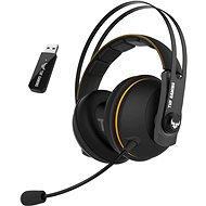 ASUS TUF Gaming H7 Wireless Yellow - Herní sluchátka