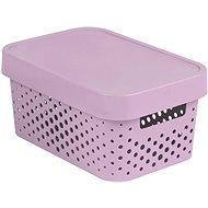 Curver INFINITY DOTS box 4,5L - růžový - Úložný box
