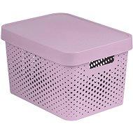 Úložný box Curver INFINITY DOTS box 17L - růžový