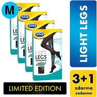 SCHOLL Light Legs 60DEN kompresní punčochové kalhoty černé M 3+1 ks - Punčochy
