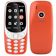 Nokia 3310 (2017) Red - Mobilní telefon