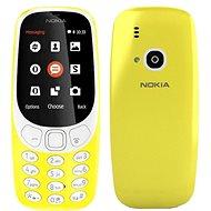 Nokia 3310 (2017) Yellow Dual SIM - Mobilní telefon