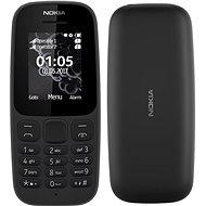 Nokia 105 (2017) černá Dual SIM - Mobilní telefon