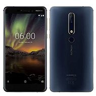 Nokia 6.1 Blue Dual SIM - Mobile Phone