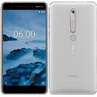Nokia 6.1 Silver Dual SIM - Mobilní telefon