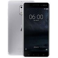 Nokia 6 Silver Dual SIM - Mobilní telefon