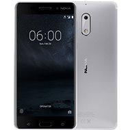 Nokia 6 Silver Dual SIM - Mobile Phone