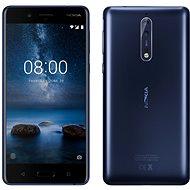 Nokia 8 Dual SIM Tempered Blue - Mobilní telefon