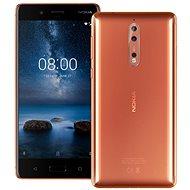 Nokia 8 Dual SIM Polished Copper - Mobilní telefon