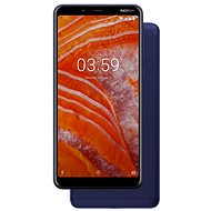 Nokia 3.1 Plus Dual SIM modrý - Mobilní telefon