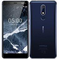 Nokia 5.1 Single SIM modrý - Mobilní telefon