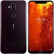 Nokia 8.1 fialová - Mobilní telefon