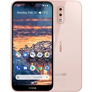 Nokia 4.2 růžová - Mobilní telefon