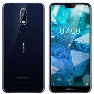 Nokia 7.1 Dual SIM 32GB Blue - Mobile Phone