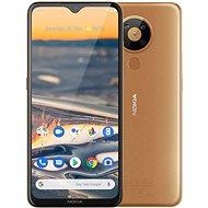 Nokia 5.3 hnědá - Mobilní telefon