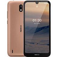 Nokia 1.3 hnědá - Mobilní telefon