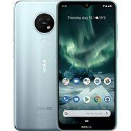 Nokia 7.2 Dual SIM stříbrná - Mobilní telefon
