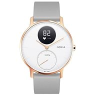 Nokia Steel HR (36mm) Rose Gold/Grey Silicone wristband