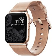 Nomad Leather Strap Modern Natural Gold Apple Watch 40/38mm - Řemínek