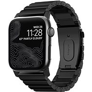 Nomad Titanium Band Black Apple Watch 44/42mm - Řemínek