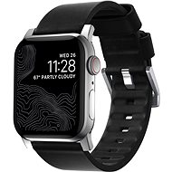 Nomad Active Strap Black/Silver Apple Watch 44/42 mm - Řemínek