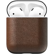 Nomad Leather Case Brown AirPods - Pouzdro