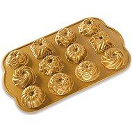 Nordic Ware Minibábovky plát s 12 formičkami zlatá - Pečící forma