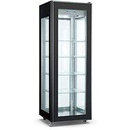 NORDline RT 400L-2 BLACK - Chladící vitrína