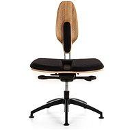 NESEDA Premium s dubovou opěrkou, černá - Kancelářská židle