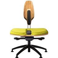 NESEDA Premium s dubovou opěrkou, zelená - Kancelářská židle