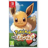 Pokémon Lets Go Eevee! - Nintendo Switch - Hra pro konzoli