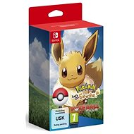 Pokémon Lets Go Eevee! + Pokéball Plus - Nintendo Switch - Hra pro konzoli