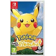 Pokémon Lets Go Pikachu! - Nintendo Switch - Hra pro konzoli