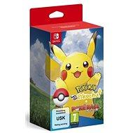 Pokémon Lets Go Pikachu! + Pokéball Plus - Nintendo Switch - Hra pro konzoli