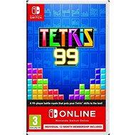 Tetris 99 + Nintendo Switch Online 12 měsíců - Nintendo Switch
