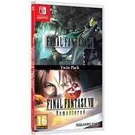 Final Fantasy VII + Final Fantasy VIII Remastered - Nintendo Switch - Console Game