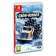 SnowRunner - Nintendo Switch - Hra na konzoli