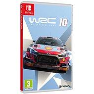WRC 10 The Official Game - Nintendo Switch - Hra na konzoli