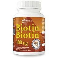 NUTRICIUS Biotin 300mcg tbl.90 - Vitamín B
