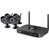 iGET HOMEGUARD HGNVK88304, 8-kanálový FHD NVR + 4x IP kamera FHD 1080p, IP66 - Kamerový systém