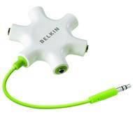 Belkin RockStar - bílý - Rozbočovací adaptér