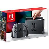 Nintendo Switch - Grey Joy-Con - Herní konzole