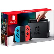 Nintendo Switch - Neon Red&Blue Joy-Con  - Herní konzole