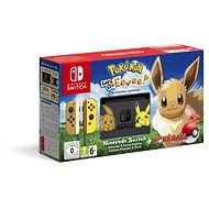 Nintendo Switch + Pokémon: Lets Go Eevee + Poké Ball - Herní konzole