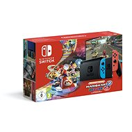 Nintendo Switch Neon + Mario Kart 8 Deluxe - Herní konzole
