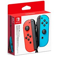 Nintendo Switch Joy-Con ovladače Neon Red/Neon Blue - Gamepad