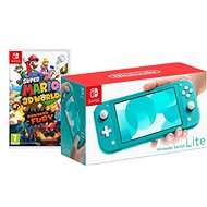 Nintendo Switch Lite - Turquoise + Super Mario 3D World